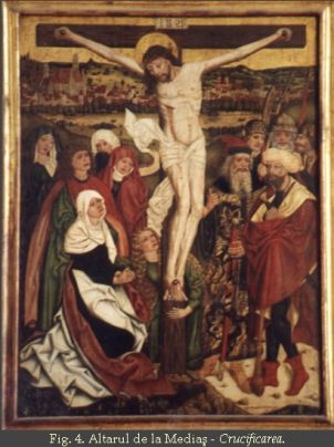 Altarul de la Medias-Crucificarea