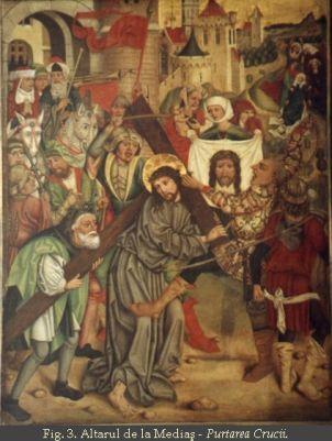 Altarul de la Medias-Purtarea Crucii